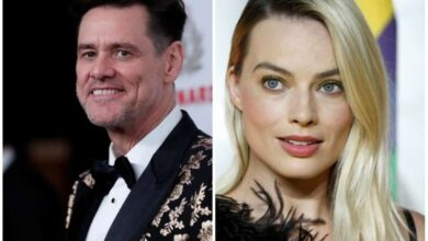 Photo of Carrey takes jibe on Margot Robbie's success, looks to her face