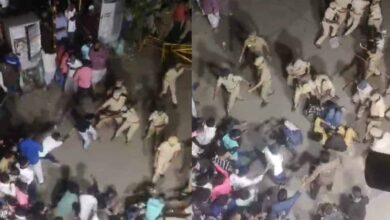 Photo of #ChennaiShaheenBagh:  Police brutally lathi-charge protesters