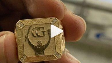 Chris Gayle Ring
