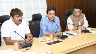 Photo of TS: KTR nudges officials to fast-track SRDP works