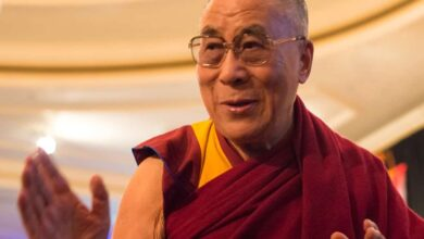 Photo of Dalai Lama expresses concern over poor health of Shinzo Abe