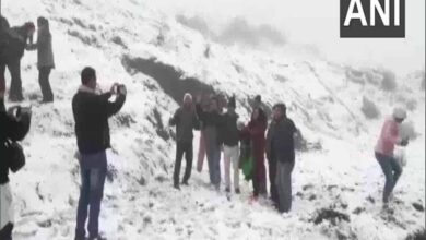 Photo of Tiger Hill in Darjeeling receives snowfall
