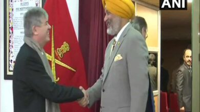 Photo of Army briefs foreign envoys' delegation in J-K