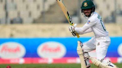 Photo of Dhaka Test: Bangladesh end day 2 at 240/3, trail by 25 runs
