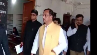 Photo of UP Deputy CM inspects State Board Exam Center in Basti