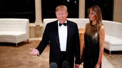 Photo of Donald Trump, Melania to depart for India today evening