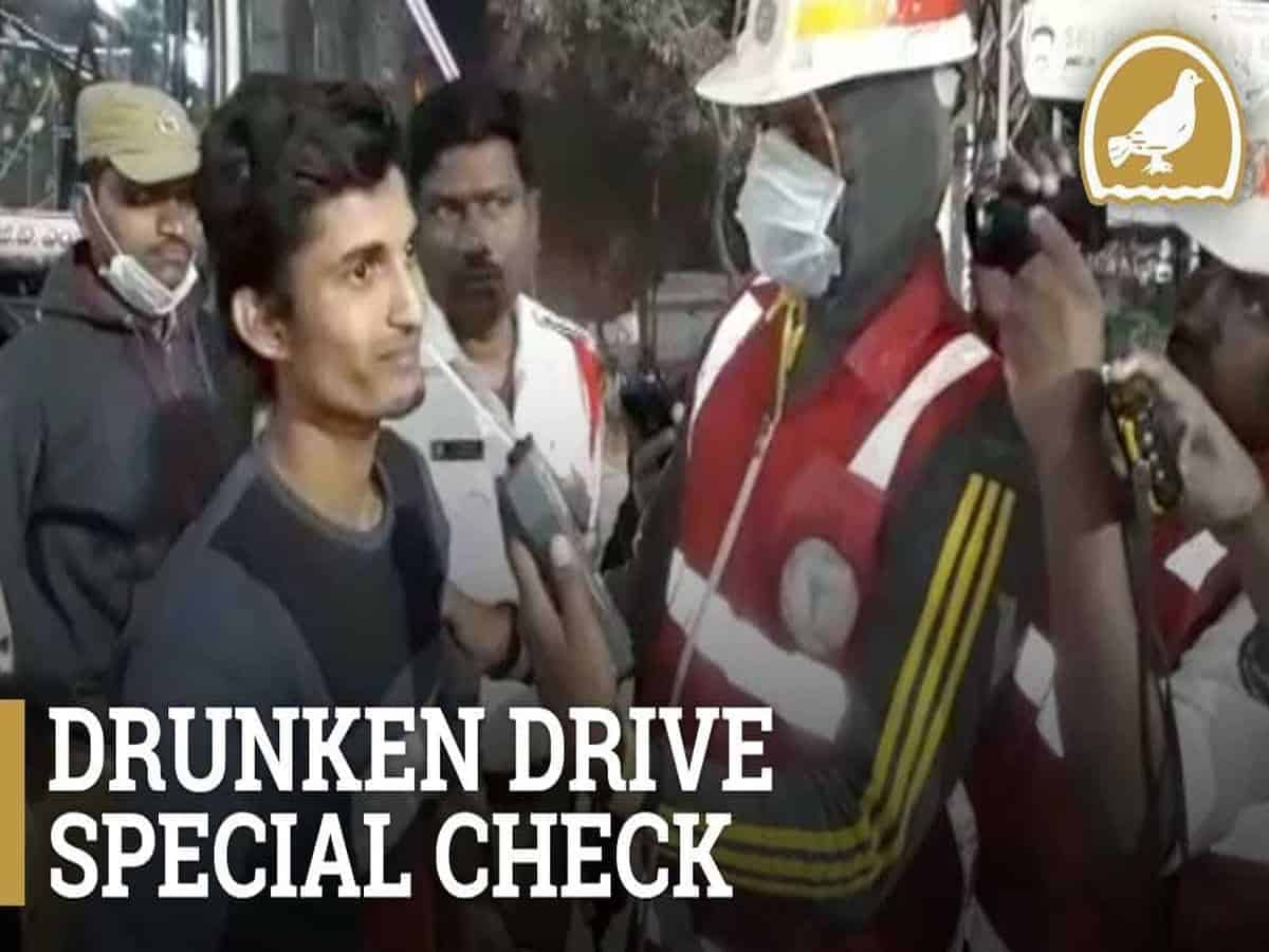 273 booked for drunk driving on Sunday in Cyberabad