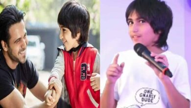 Photo of Emraan Hashmi's son delivers speech on World Cancer Day