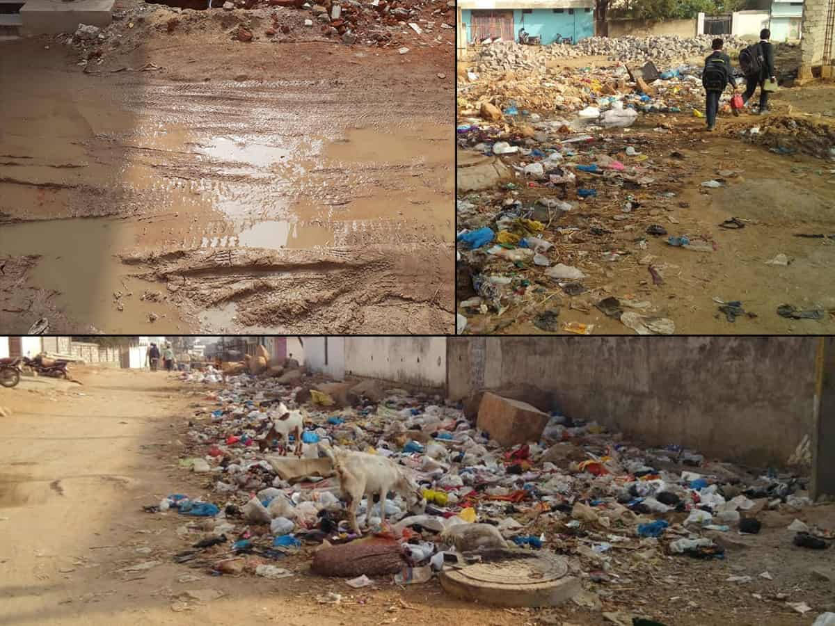 Hyderabad drowns in garbage, residents express their disgust