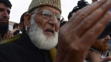 Photo of Geelani's health critical, Valley on high alert