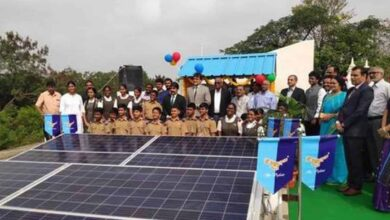 Hyderabad Public School installs 120 kW solar power plant