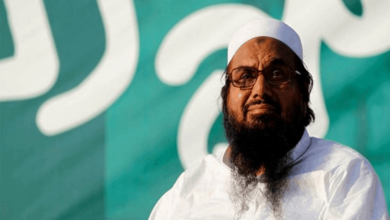 Photo of Hafiz Saeed sent to jail for five years