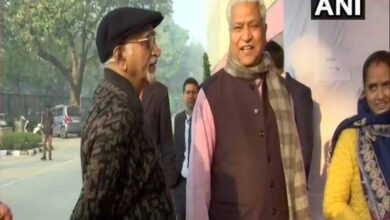 Photo of Delhi polls: Hamid Ansari, RSS' Ram Lal cast vote