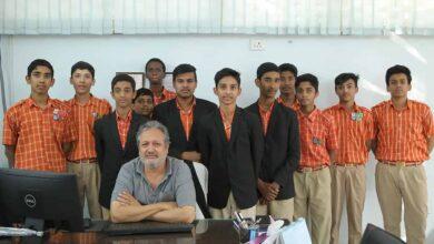 Photo of Saudi NRI promoting education in Hyderabad
