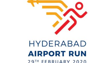 Photo of Hyderabad airport run 2020 by GMR on 29 February
