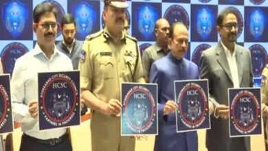 Photo of Telangana HM launches Hyderabad City Security Council logo