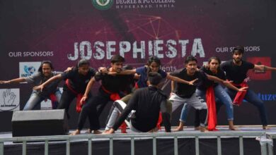 Hyderabad: Students rock stage with dance moves at Josephiesta