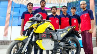 Photo of Hyderabad: 10th standard students develop fuel free bike