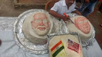 Photo of Chennai chef's welcome gesture for Trump, 3 idlis of 107 Kg