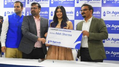 Adah Sharma pledge to donate eyes