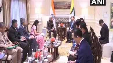 Photo of Myanmar President U Win Myint calls on EAM Jaishankar