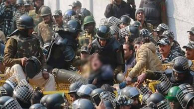 Photo of Jamia march: Cops hit women students on private parts