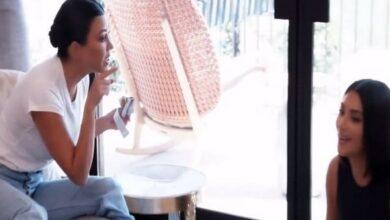 Photo of 'Keeping Up with the Kardashians': Kim pounces at Kourtney