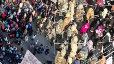 Photo of CAA-NRC: Tension in Kanpur as police forcibly evict protesters