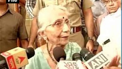 Photo of Former MP Krishna Bose passes away in Kolkata