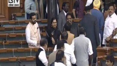 Photo of Congress stages walk-out in Lok Sabha