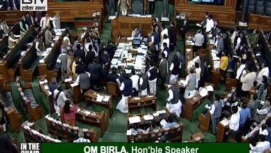 Photo of Opposition continues protests in LS, Mahtab disapproves conduct