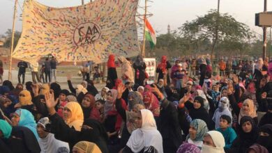 Photo of Reading, knitting keep anti-CAA protesters busy in UP