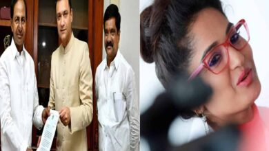 Photo of Telugu actress comments on Akbaruddin Owaisi's representation