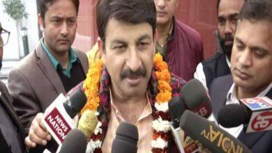 Photo of Manoj Tiwari hopeful of winning in Delhi