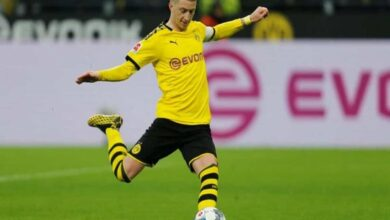 Photo of Marco Reus to miss clash against PSG due to injury