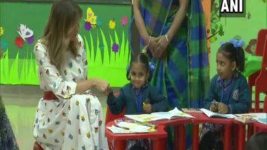 Photo of Melania recounts 'Happiness Class' experience at Delhi school
