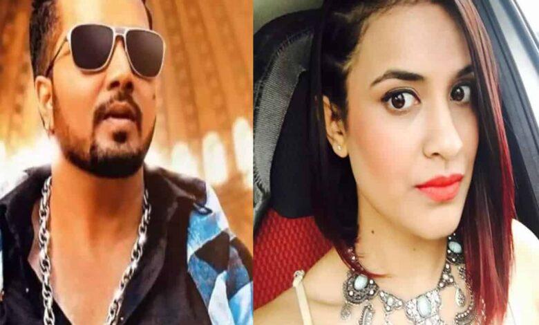 Mika Singh and Saumya Khan