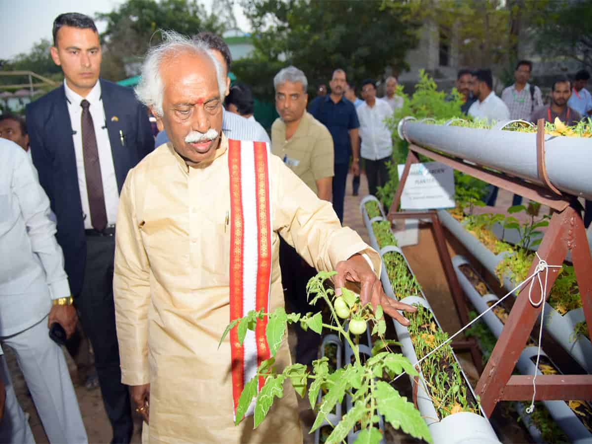 Governor of Himachal Pradesh visits NIRDPR in Hyderabad