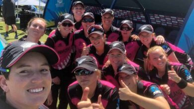 Photo of NZ creates record for defending lowest total in Women's T20 WC