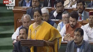 Photo of Sitharaman pays homage to Arun Jaitley in her budget speech