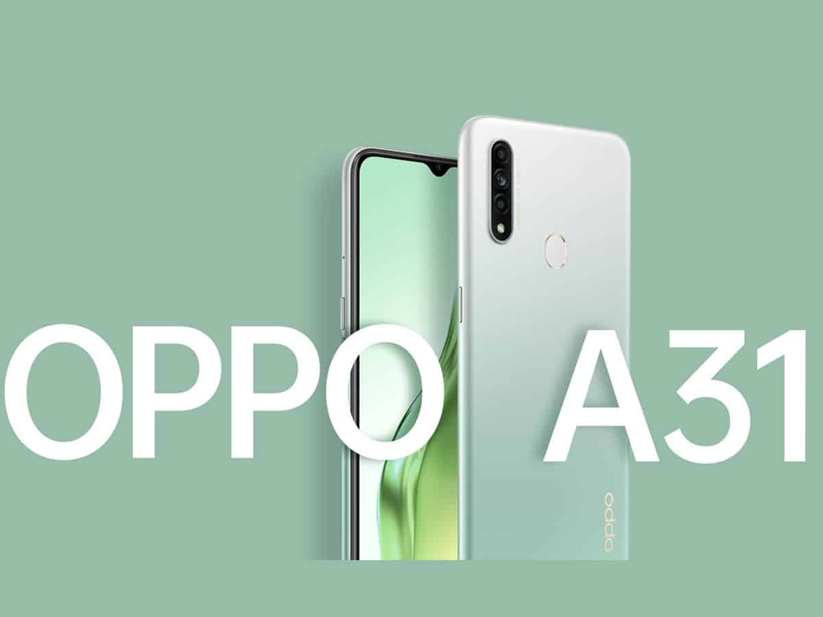 OPPO launches A31 in India at starting price of Rs 11,490