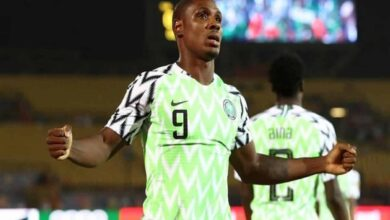 Photo of Man Utd signs striker Odion Ighalo on loan