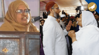 Photo of Anti-CAA: Muslim women ask Owaisi, Why police deny permission?