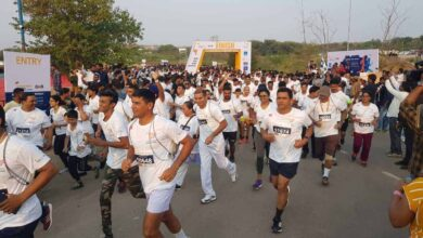 Photo of Over 2000 runners hit tracks in India's first ever 'Airport Run'
