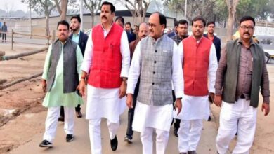 Photo of UP Ministers inspected venue in Prayagraj ahead of PM's visit