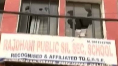 Photo of Rioters used Rajdhani Public School to attack locals