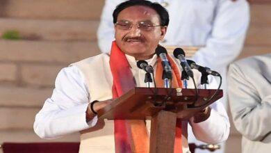 Photo of Minister Pokriyal supports Jamia-crackdown, warns students