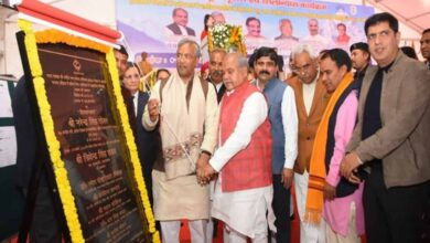 Photo of U'khand CM lays foundation stone of Plastic Recycling Facility
