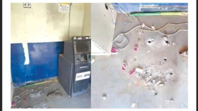 Photo of Offendors escape with ATM machine in Hyderabad
