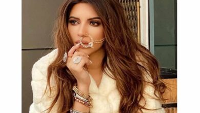 Photo of Shama Sikander sizzles in new outfit and nose ring